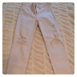 White American Eagle Jeans